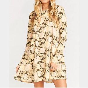 Show Me Your Mumu Harrison Babydoll Floral Dress